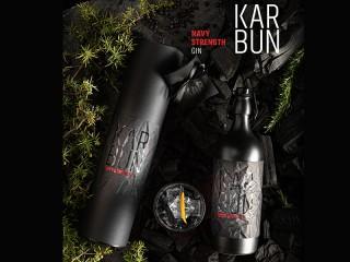 Gin Karbun, Navy strength, 0.75 l