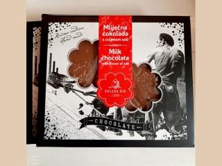 Čokolada s cvijetom soli, 60 g